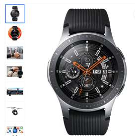 SAMSUNG Galaxy Watch 46 mm Smartwatch  (Black Strap, Regular)