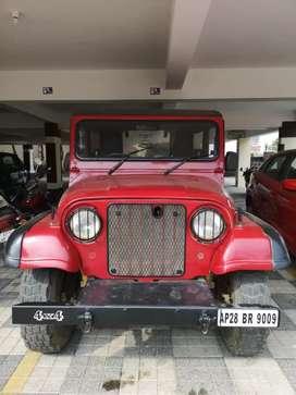 Mahindra MM 550 Jeep Diesel