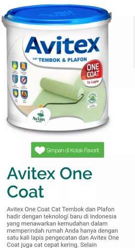Avitex One Coat 4.5kg SW