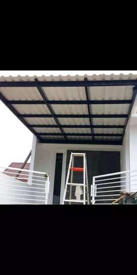 Mengerzakan kanopi pager tralis balkon