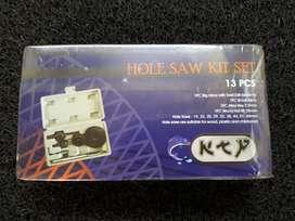Hole Saw Kit Set 13 - Mata Bor Pelubang Kayu Dll
