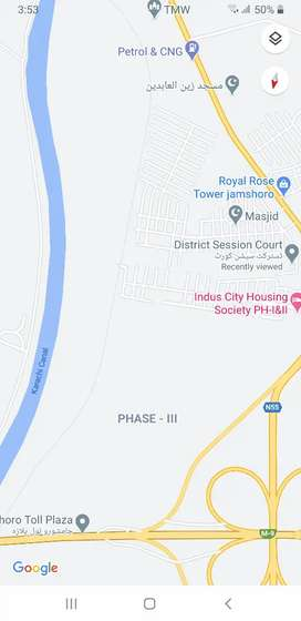 Plot for sale at mohammadi town phase 2 near court jamshoro highway