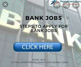 Apply now Bank Job. Interested person