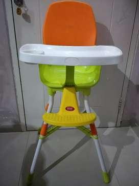Kursi makan bayi bahan premium dan sangat kokoh