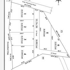25 Cents Agri Land For Sales Near It Park