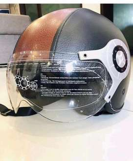 Uk import leathoroid helmet
