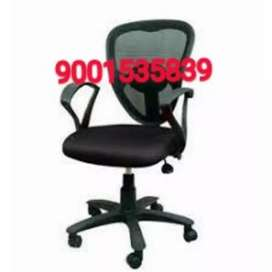 New black mesh back office chairs