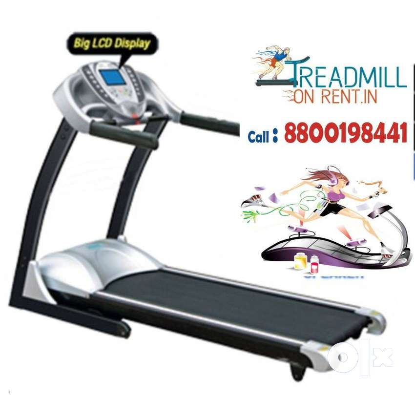 Treadmill on Rent in Dwarka Cross trainer exercise equipment on hire 0