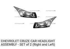 Chevrolet Cruze Headlight in new condition