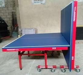 Tennis meja pingpong lipat roda cakram bisa baayar ditempat