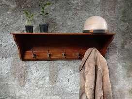 Gantungan Baju Antik kayu jati