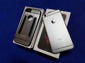 iphone 6s 64gb grey pemakaian pribadi fullset