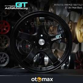 Velg Mobil Advan Racing GT (N1033) Ring 17 Matt Black