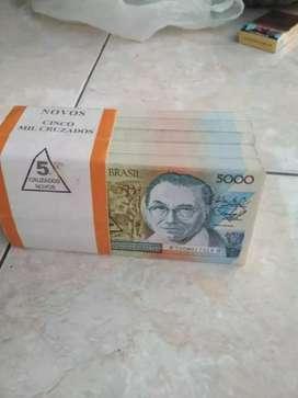 di jual uang brazil kuno per lembar 100 ribu ,Tahun: 1951