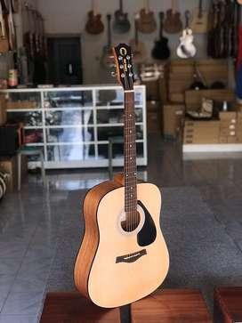 Gitar Pabrikan Orlin Bulat Natural