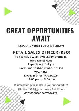 RETAIL SALES OFFICER (RSO)
