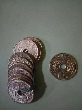 Uang koin indonesia jaman belanda keluaran 1945