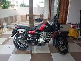 Bajaj V15 Black and red  ,MODEL 2017  only 20 month old