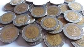 Logam Rp 1.000 Kelapa Sawit