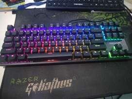 keyboard mechanical rexus legionare mx9 blue switch