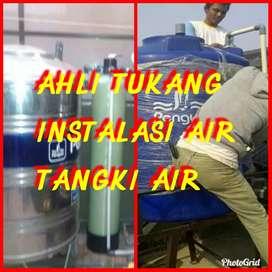 Tukang Ahli Tangki Air & Instalasi air.jujur.kerja rapi&cepat.GARANSI