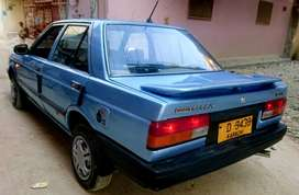 Nissan sunny 1986  model automatic