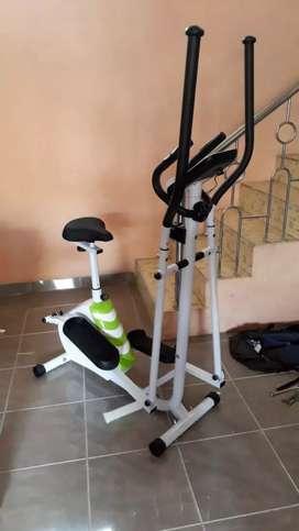 Sepeda statis eleptical ( sepeda statis untuk jogging )