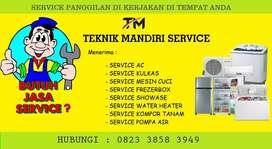 Service Ac Kulkas Mesin cuci Frezerbox - Isi freon AC - Pasang Ac
