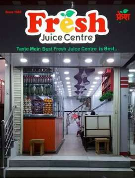 Wanted helper for juice centre