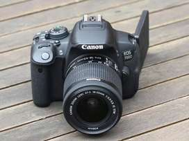 Canon 700d with  shorts Film kits