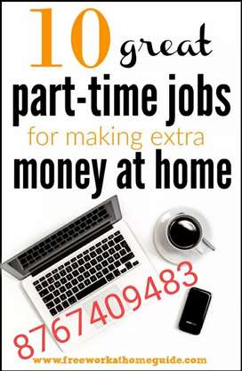 Data entry part time jobs for freshers in Jobs