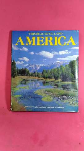 buku this beautifulland America jadul vintage antik lawas kuno rare