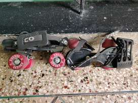 Good conditionTwo pairs skates on good price