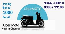 UBER MOTO - Wanted Bike Taxi Riders