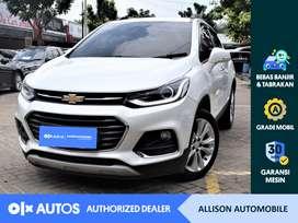 [OLX Autos] Chevrolet Trax 2018 1.4 Premier Turbo A/T Putih #Allison