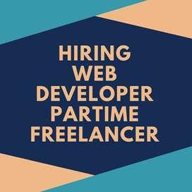 Freelancer/part-time web developer needed (WORD Press majorly)