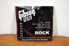 Senar Gitar Gibson 0,9 Elektrik