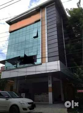 3 storied commercial building for sale Rs. 2.25 cr Vazakkala