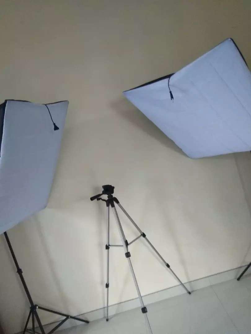 Diffuser lighting untuk studio 2 set 0