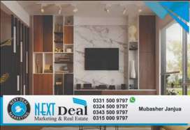1 Bed Room TV Lounge Kitchen Stylish Sector H 13