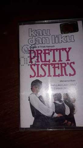 Kaset pita pretty sisters 80an