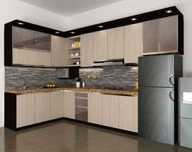 Kitchen Set dan Interior Custom Minimalis Murah Ekonomis