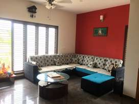 Three BHK duplex house with car parking and Back yard