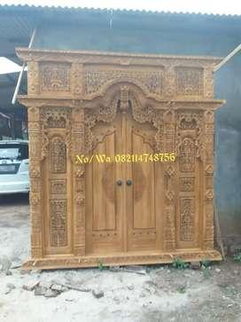 Pintu gebyok ukuran 250 ready stock tampa dp