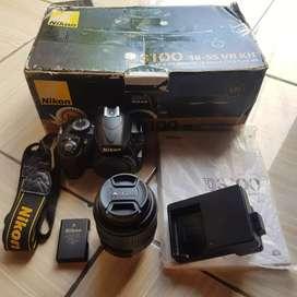 Nikon d3100 fullsetbox