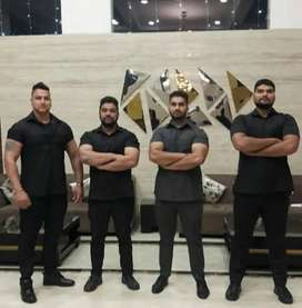 Bouncer required security guard housekeeping