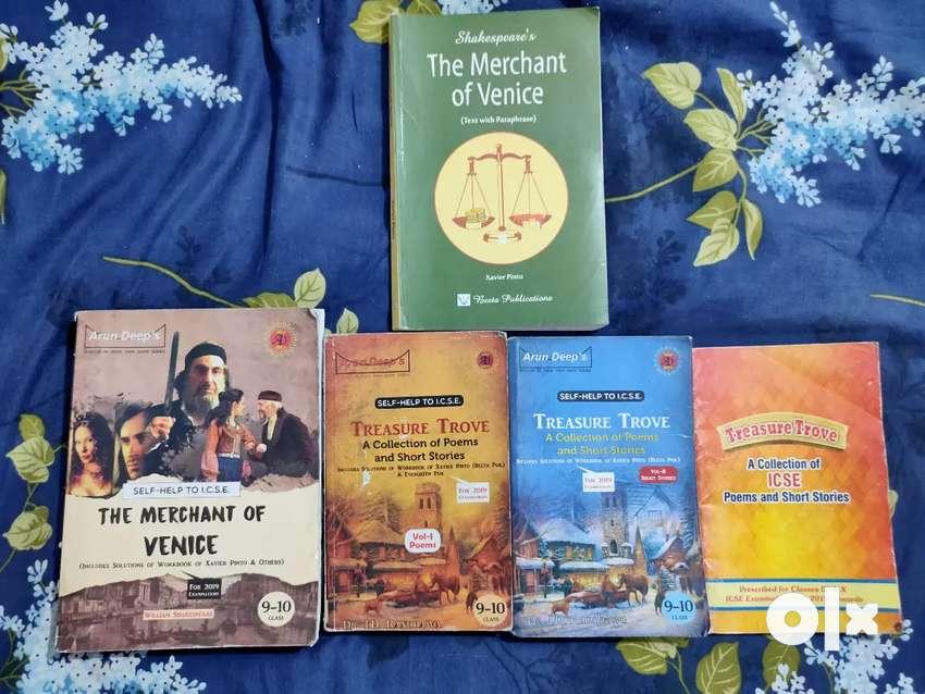 English Merchant of Venice (MOV) and Treasure Trove guide books