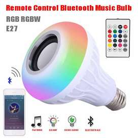 Remote Control, Bluetooth LED Lamp Speaker Music Playing Audio