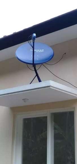 Antena parabola jaring dan mini terlengkap