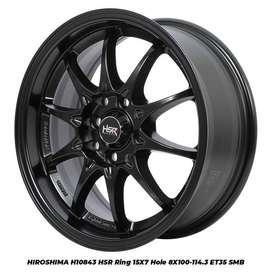 Velg Mobil r15 HSR bisa untuk mobil Agya, Brio, Datsun Go, Avanza dll